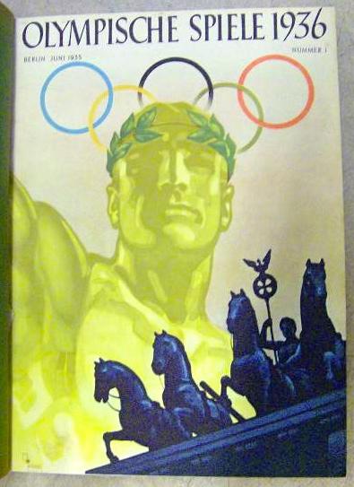 Sportantiquariat Olympische Spiele 1936 Offizielles Organ Des Propaganda Ausschusses Nr 1 Juni 1935 Bis Nr 15 Aug 1936